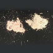 金属粉末の種類判別